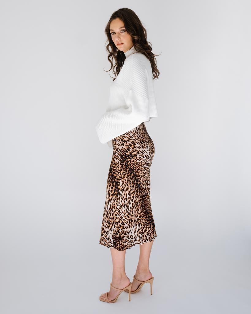 Skirt Grrrls Night Midi Skirt