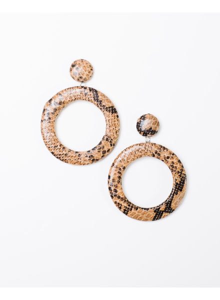 Trend Snake O Drop Earrings
