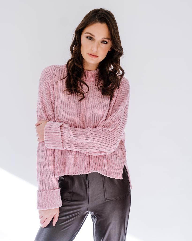Knit Ice Pink Knit