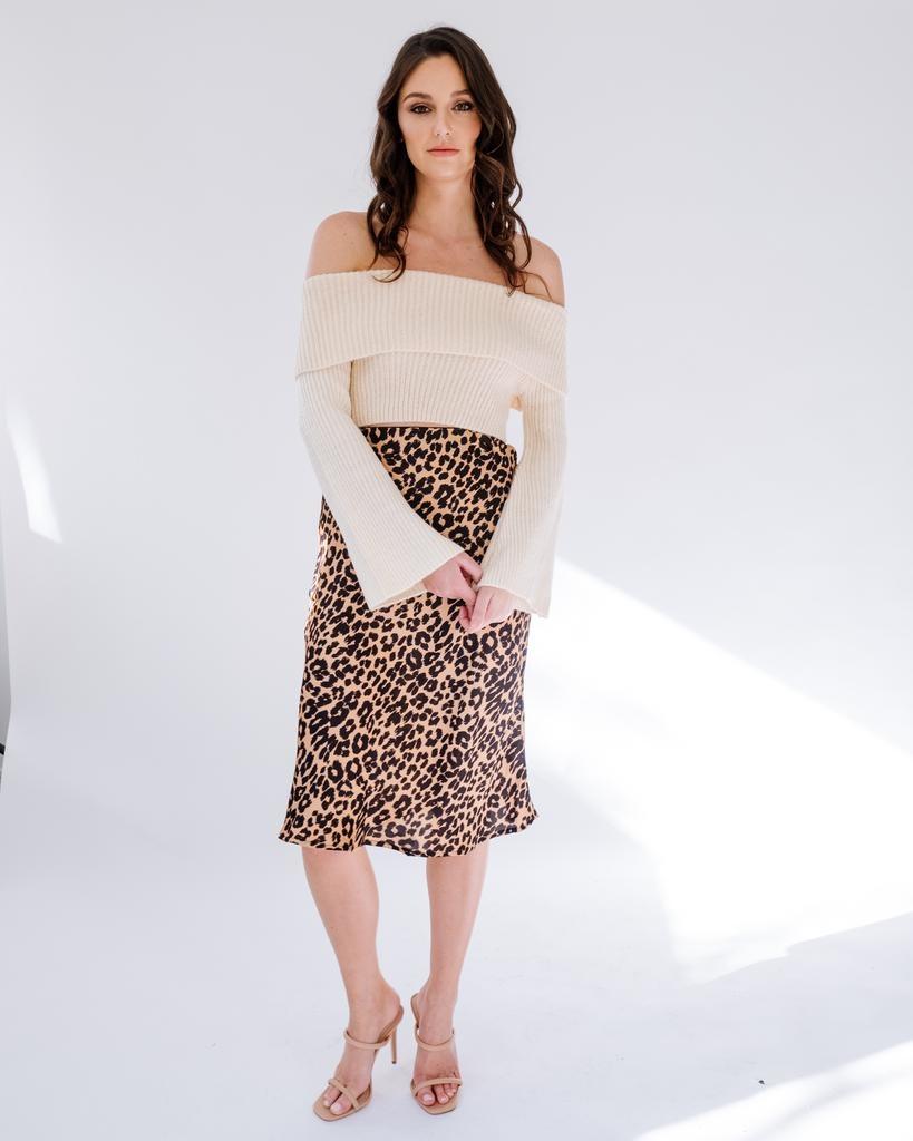 Skirt Wild Instincts Midi Skirt