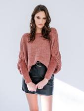 Sweater Chenille Dolman Sweater