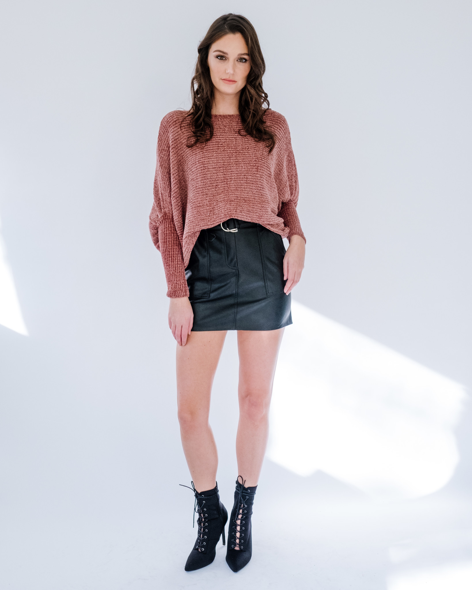 Sweater Chenille Dolman Sweater