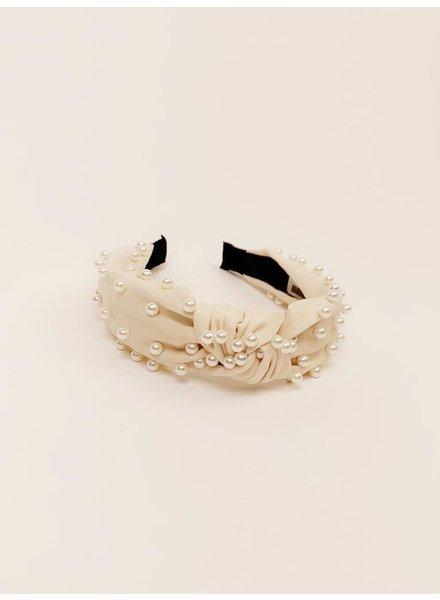 Headband Ivory Pearl Headband