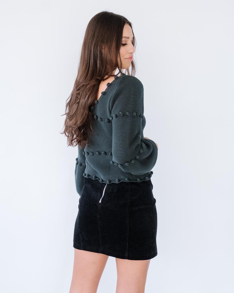 Skirt Corduroy Mini Skirt