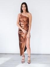 Midi Bronzed Goddess Dress