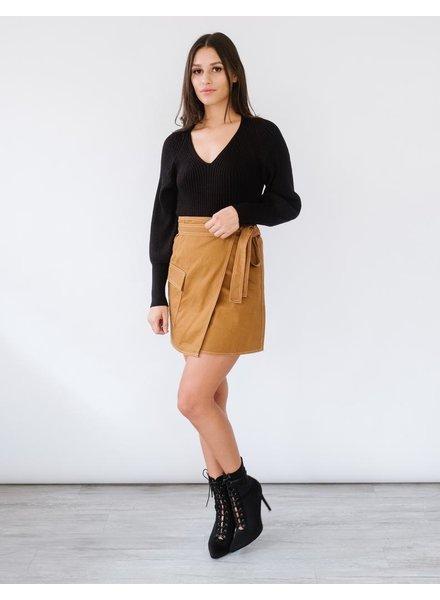 Sweater Puff Sleeve Knit