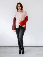 Sweater Colorblock Sweater