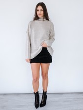 Sweater Tie Back Sweater