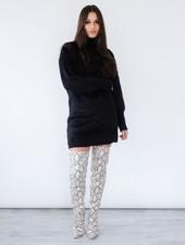 Sweater Fuzzy Sweater Dress