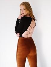 Bodysuit Corset Back Bodysuit