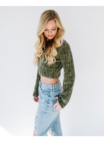 Sweater Fern Chenille Sweater