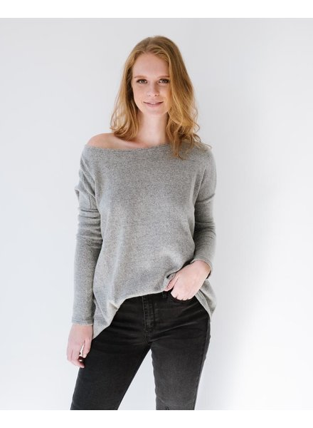 Sweater Grey Piko Favorite Sweater