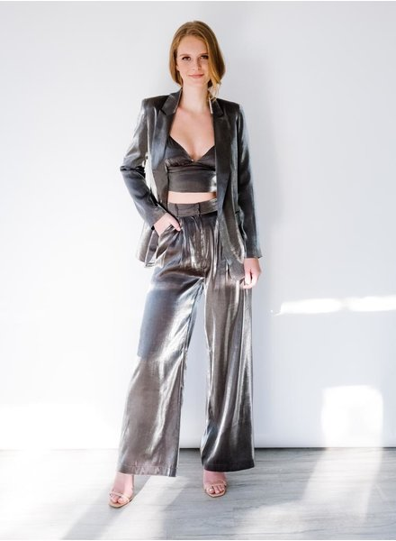 Pants Liquid Metal Trousers