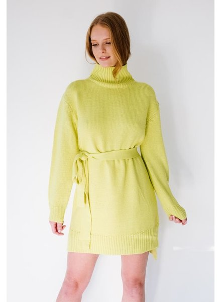 Mini Limeaid Knit Tunic