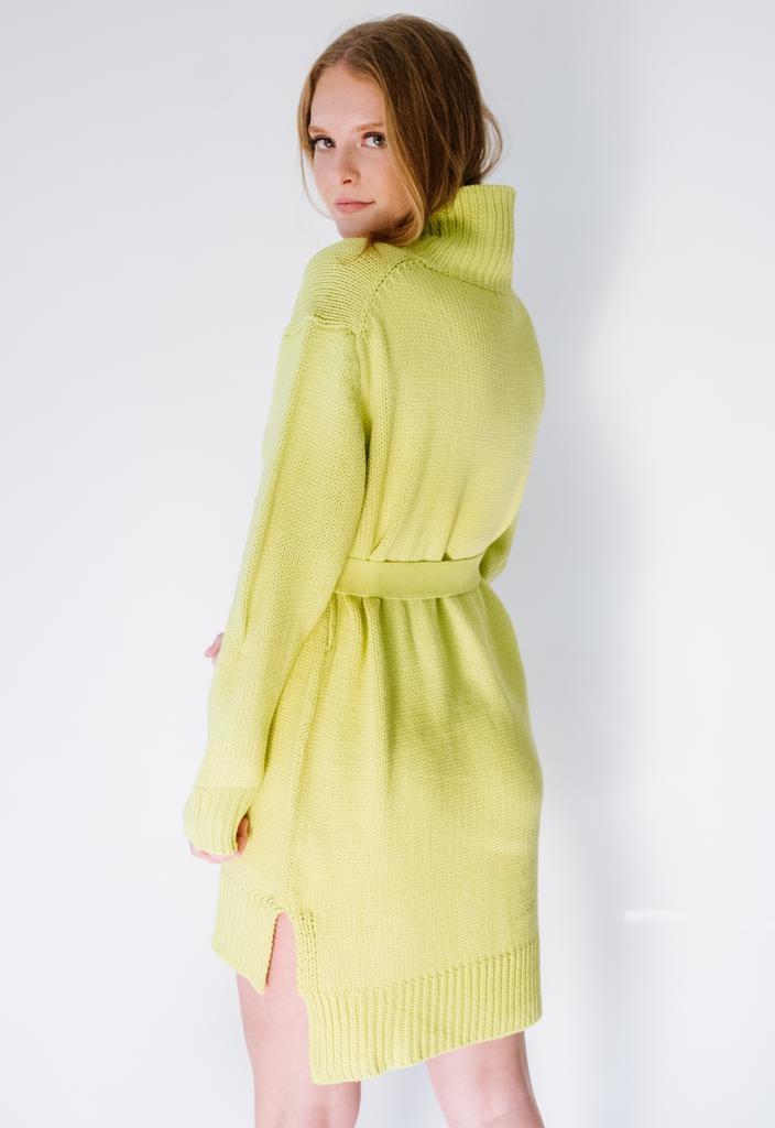 Mini Limeaid Knit Tunic