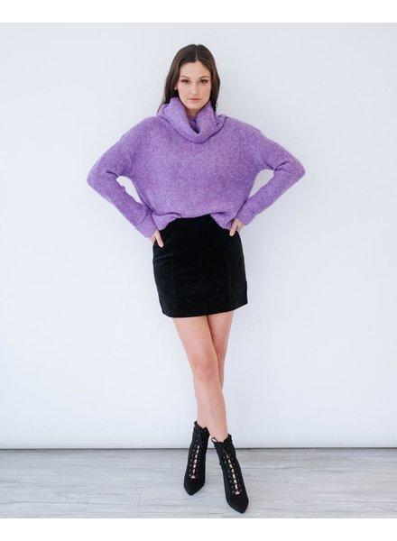 Sweater Violet Ski House Knit