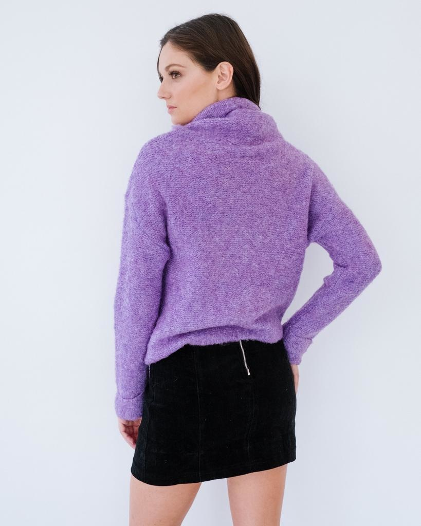 Sweater Violet Ski House Knit