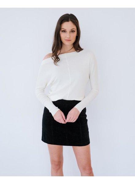 Knit Ivory Lightweight Knit