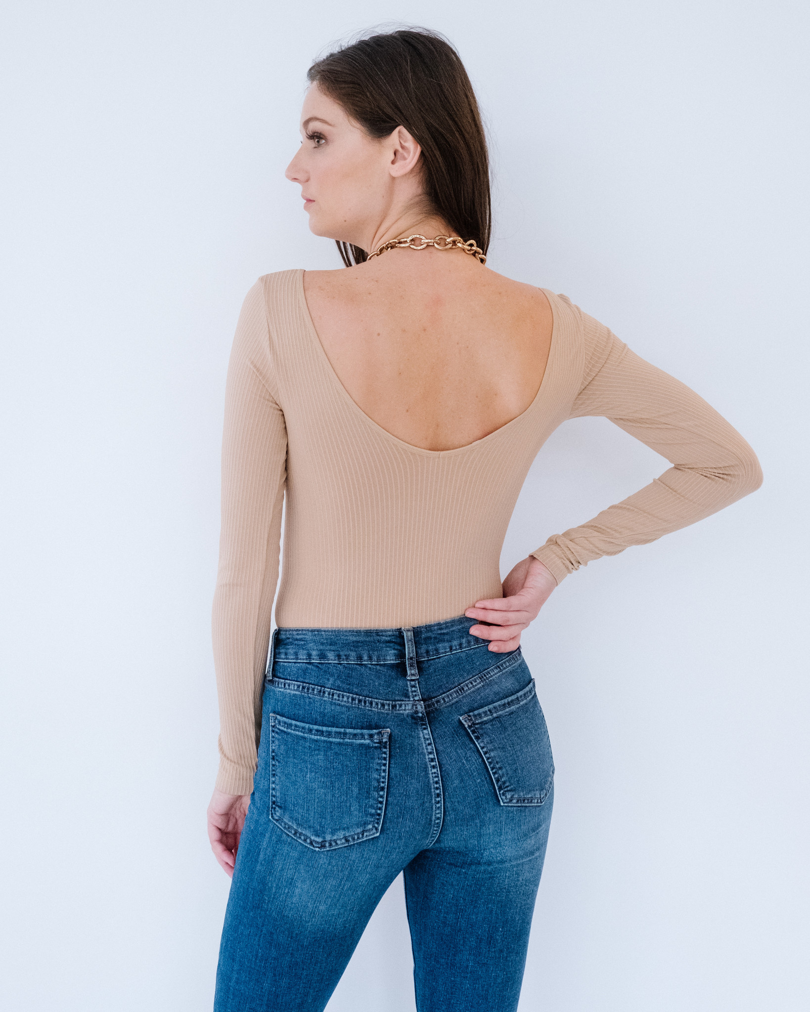 Bodysuit Ribbed Basic Bodysuit
