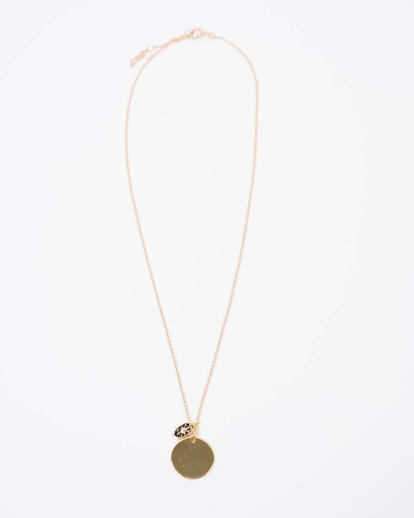 Sterling Sterling Double Pendant Necklace