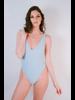 Bodysuit Ribbed Swim Suit