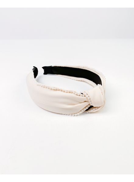Headband Creamy Pearl Headband