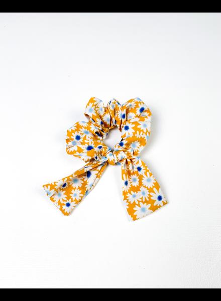 Headwrap Sunshine Flowers Scrunchie