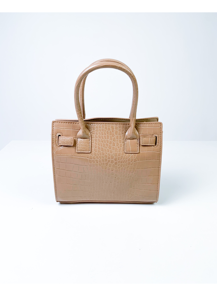 Handbag Tan Crocodile Handbag