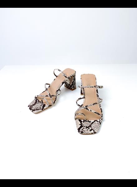 Sandal Snake Squared Sandals