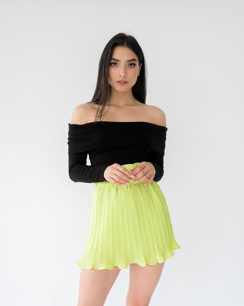 Trend Black Off-the-Shoulder Top