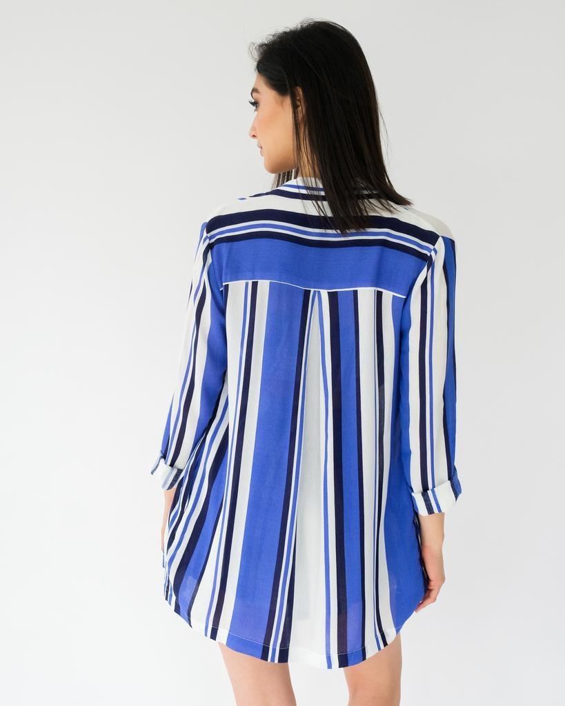 Lightweight All For It Striped Jacket