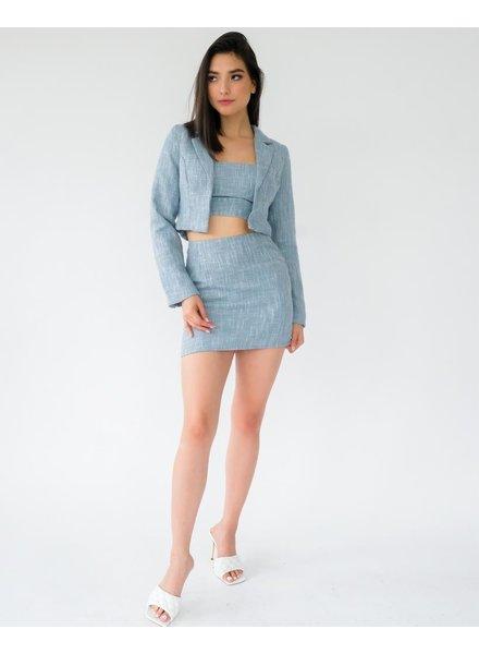 Skirt As If Mini Skirt