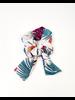 Headwrap Hawaiian Flowers Scrunchie