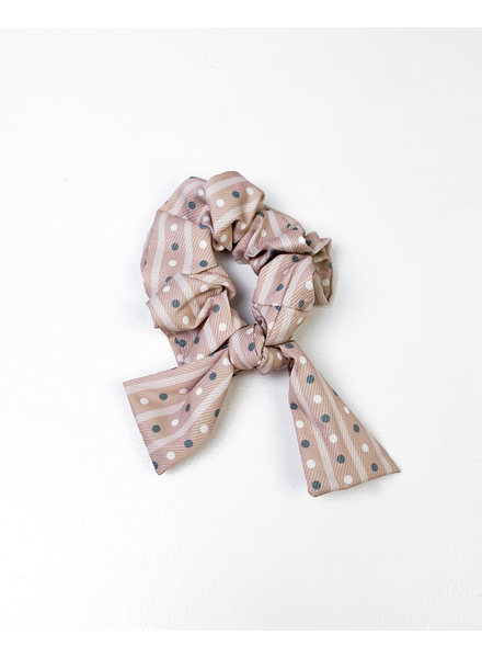 Headwrap Dotty Scrunchie