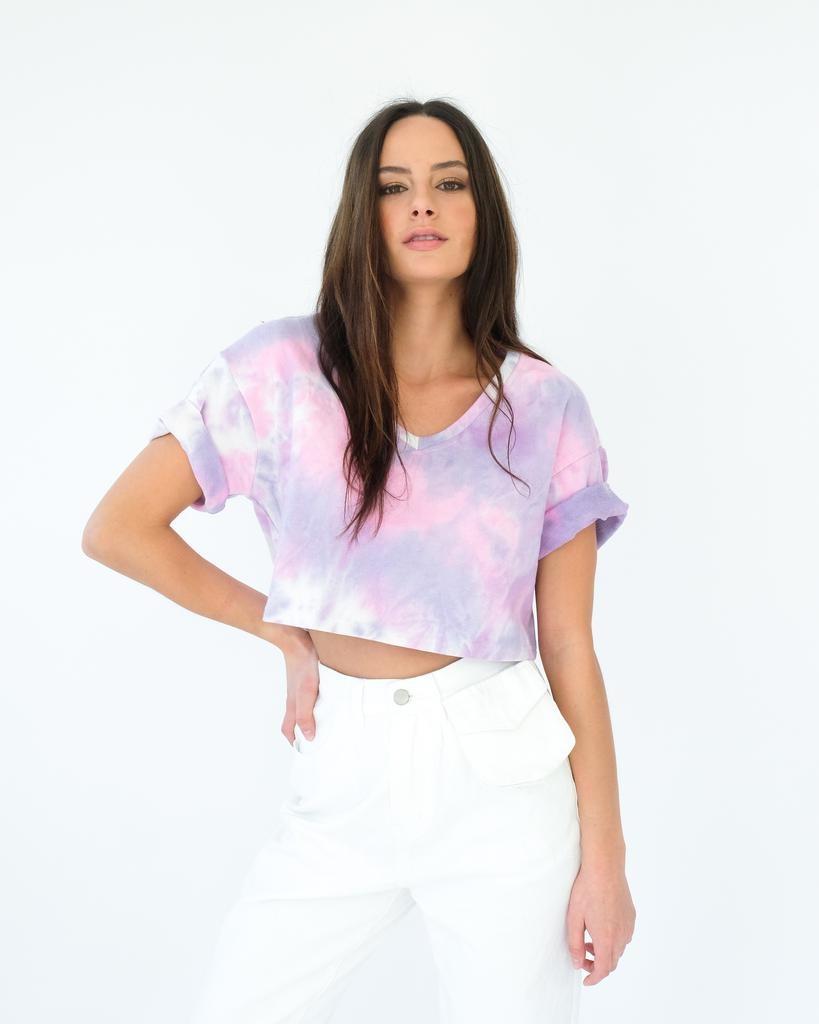 T-shirt Tie Dye It Crop Top