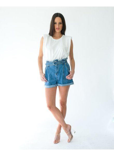 Shorts Looped In Belted Shorts