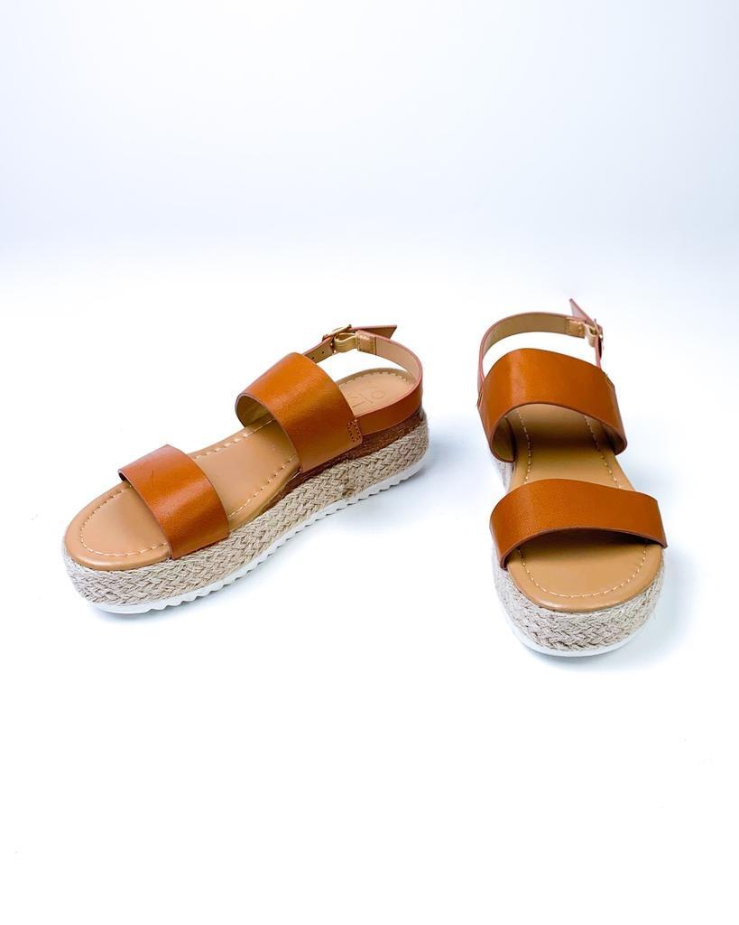 Sandal Camel Platform Sandal