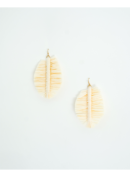 Trend Ivory Palm Earrings