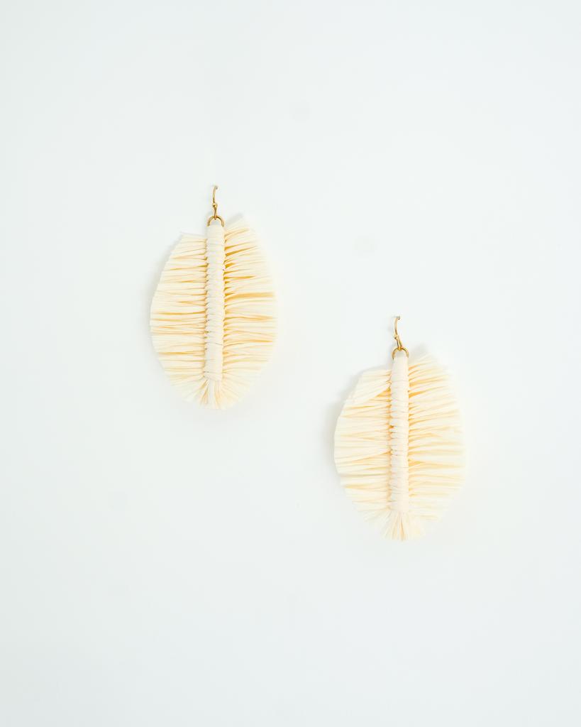 Trend Ivory Palm Earrings