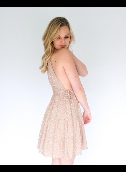 Mini Dotted Mini Dress