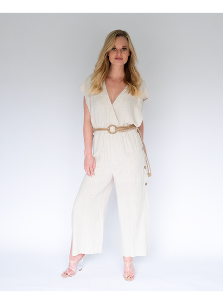 Jumpsuit All Of A Button Jumpsuit