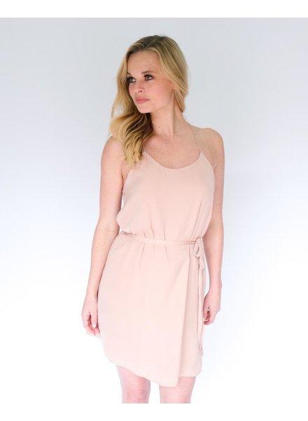 Mini Tie Waist Shift Dress