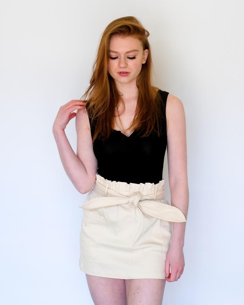Skirt Ecru Mini