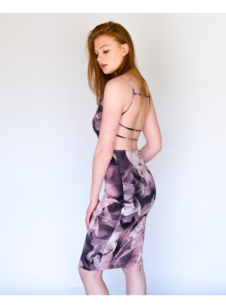 Midi Violet Watercolor Midi