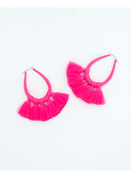 Trend Hottest Pink Hoops