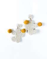 Trend Cheering Cactus Earrings