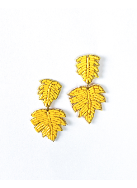 Trend Sunshine Palm Earrings