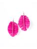 Trend Carinval Leaf Earrings