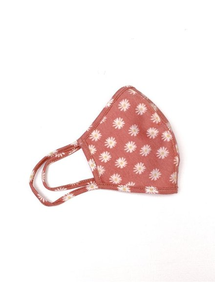 Accessories Daisy Print Protective Face Mask
