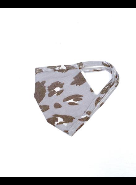 Slate Leopard Protective Face Mask